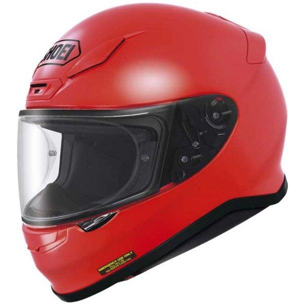 Shoei NXR Shiny Red