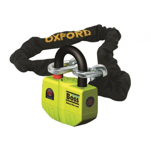 OXFORD Boss Alarm/Big Boss Alarm. Super stærk kædelås.