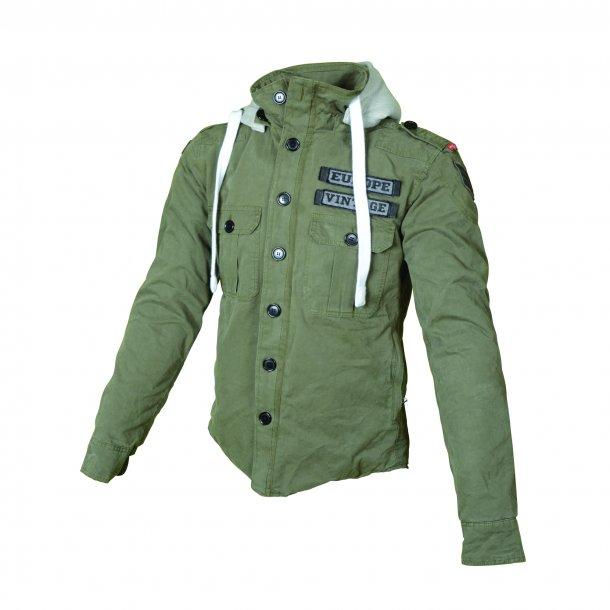 Booster Core hoodie KEVLAR Army grøn