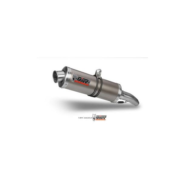 MIVV SLIP-ON OVAL TITANIUM HIGH Mivv Sportsudstødning til Yamaha YZF 600 R6 2003 > 2005